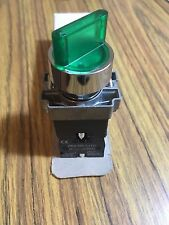 22mm selector switches illuminated 2-position N.O. metal base&bezel