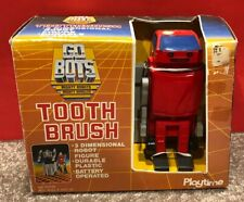 Rare Vtg 1985 Playtime GoBots Go-Bots Tooth Brush toothbrush 100% Complete Misb