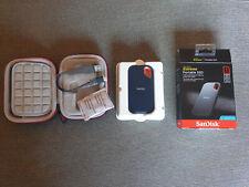 SANDISK EXTREME SSD PORTÁTIL 1TB + FUNDA