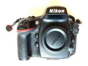 Nikon D800 36.3MP FX SLR Camera Body & Access, 14000 Shutter Activations