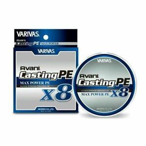 Varivas Avani Casting PEx8 Max Power White 300m Fishing Braid