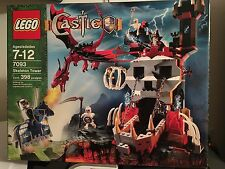 RETIRED! LEGO 7093 CASTLE SKELETON TOWER - NEW IN FACTORY-SEALED BOX