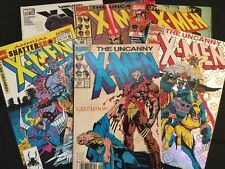 The Uncanny X-Men - 6 Comic Books Set - Annual / Vintage 1991 Plus More