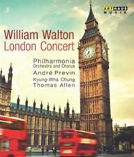 WILLIAM WALTON: LONDON CONCERT NEW BLU-RAY