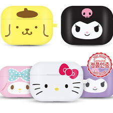 Genuine Hello Kitty Friends Big Face AirPods Pro Jelly Case made in Korea