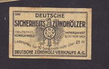 Ancienne étiquette allumettes Allemagne BN47508 Aigle