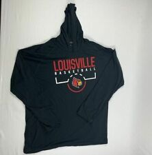 NEW adidas Louisville Cardinals - Men's Black Clima-lite Pullover (3XL)