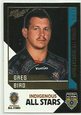 2012 NRL SELECT DYNASTY TITANS GREG BIRD INDIGENOUS ALL STARS AS13 CARD