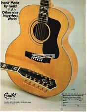 1977 Guild 12-String Acoustic Guitar Magazine Ad