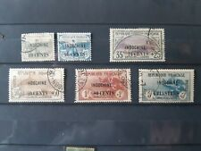 stamps french office China 6 timbres France yt 90/95 colonies Chine Indochine