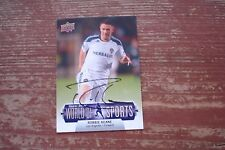 ROBBIE KEANE 2011 UD World of Sports Soccer #233 Signed LA GALAXY Autograph