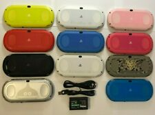 Pink Green White Black SONY Playstation PS Vita 2000 Slim PCH-2000 Bundle Import