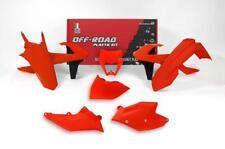 KTM EXC 17 18 Neon flo naranja Racetech Kit Plástico con máscara de faros