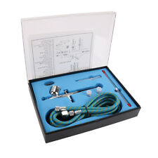 Pluma de gatillo de doble acción aerógrafo de alimentación Por Gravedad Aire Pistola Kit para Arte de la pintura
