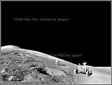 Photo Print: Apollo 15: The Rover, Astronaut David Scott & Mt. Hadley, 1972