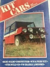Kit Cars Magazine Autumn 1981