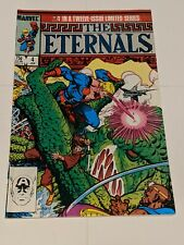 The Eternals #4 January 1986 Marvel Comics MOVIE Coming KEY