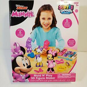 Cra-Z-Art Mold N' Play Disney Junior Minnie Softee Dough 3D Figure Maker