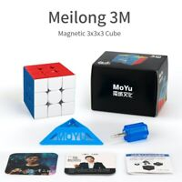 MoYu Meilong 3M Magnetic 3x3 - stickerless Zauberwürfel Speedcube Magic Cube ...