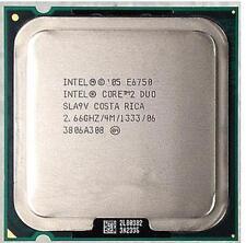 Intel SLA9V E6750 Core 2 Duo 2 2.66GHz 4 M 1333 FSB Socket 775 Processeur