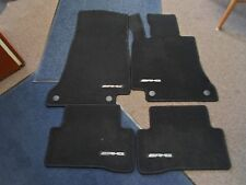 2011 12 13 14 2015 Mercedes Benz C Class Car Mats 4 PIECE SET CLOTH FACTORY FEO