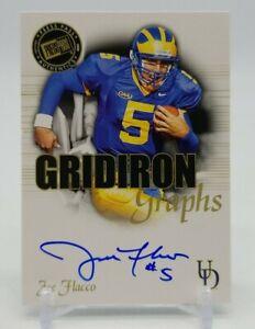 2008 Press Pass SE JOE FLACCO Gridiron Graphs on Card Auto GG-JF Delaware Ravens