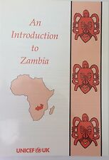 UNICEF Intro to Zambia and Palm Grove Victoria Falls locality study books KS2