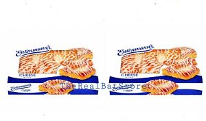 2 Entenmann's Cheese Buns pastry 18oz