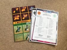 Away Teams C-E Celtic Final Football Programmes