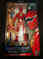 Power Rangers Lightning Collection Spectrum Series -Dino Thunder Red Ranger