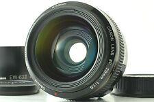 【 TOP MINT!! 】Canon EF 28mm f1.8 USM AF Wide Angle Lens & Hood + Cap from Japan