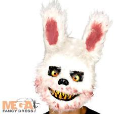 Zombie Killer Bunny Mask Adults Fancy Dress Halloween Animal Rabbit Costume Mask
