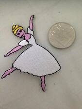 Ballerina Embroidered Patch Iron or Sew on Motif Dancer Dance Ballet  Kids