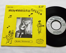 "Buddy CHESSMAN Rockabilly spleen FRENCH Private 7""EP ROSE Rds RR100 (1982)EX/EX+"