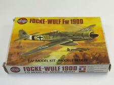 Vintage Airfix 1/72 FOCKE-WULF Fw 190D WWII German Fighter Unmade 2nd Type 5 Box
