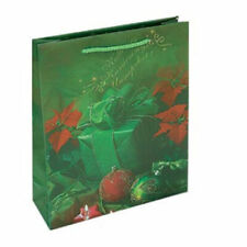Christmas Green Red Pattern Bags for Gift for jewellery sweets CJB3
