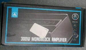 JL Audio MX300/1 Monoblock Class D Marine Amplifier 300 Watts RMS