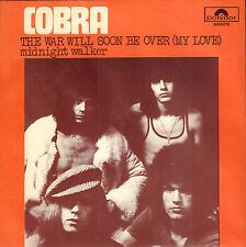 "COBRA – The War Will Soon Be Over (1971 DUTCH HARDROCK VINYL SINGLE 7"")"