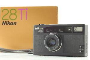 [MINT in Box] Nikon 28Ti Point & Shoot Film Camera w/ Case From JAPAN