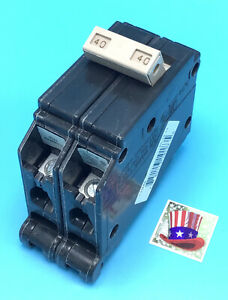 New Circuit Breaker Eaton Cutler-Hammer CH240 40 Amp 2 Pole 120/240V