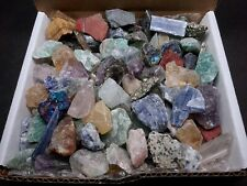 Miniatures Crafters Collection 1 Lb Mix Natural Gems Crystals Minerals