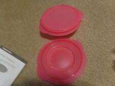 Tupperware Flat Out Container Flat Out Schalen 3 Cup Menge 2 pink NEU