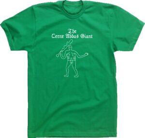 Cerne Abbas giant T-Shirt - Ancient Mythological Folklore, S-XXL Various Colours