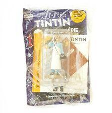 FIGURINE COLLECTION OFFICIELLE TINTIN N°54 MONSIEUR SANZOT + LIVRET PASSEPORT