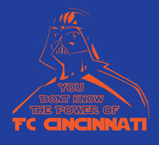 Darth Vader Fc Cincinnati shirt Star Wars Mls Soccer Football Bone Adi Waston