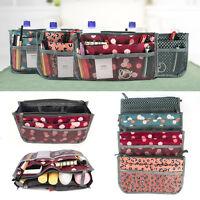 ISASSY Women Lady Travel Insert Handbag Purse Large Liner Organizer Tidy Bag