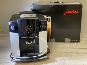 Jura D6 Automatic Coffee Machine 1 Platinum Pre Owned Nice