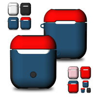 For AirPod Earphone Charger Shockproof Apple AirPods Case Protect Silicone Cover