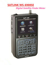 SATLINK WS-6908SE Digital Satellite Finder DVB-S - Keyboard-light & Back-light
