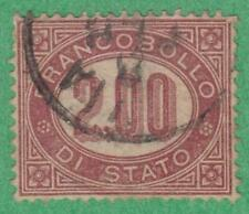 Italy #O6 used 2L Official 1875 cv $60